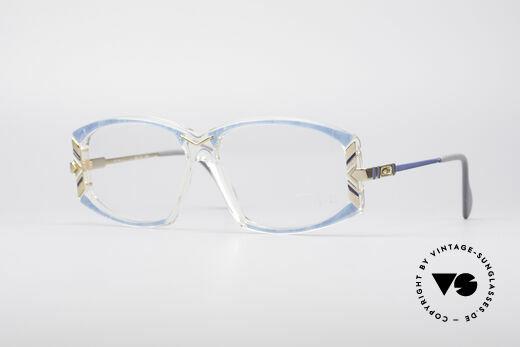 Cazal 194 Ladies 80's Eyeglasses Details