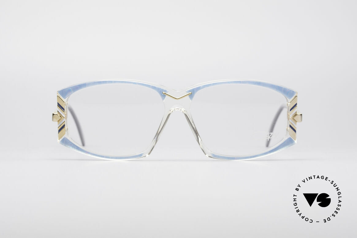 Cazal 194 Ladies 80's Eyeglasses, beautiful Cazal ladies eyeglass-frame from 1988, Made for Women
