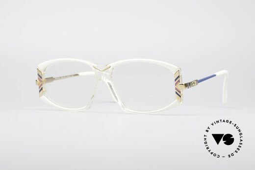 Cazal 194 Ladies 80's Eyeglasses Details
