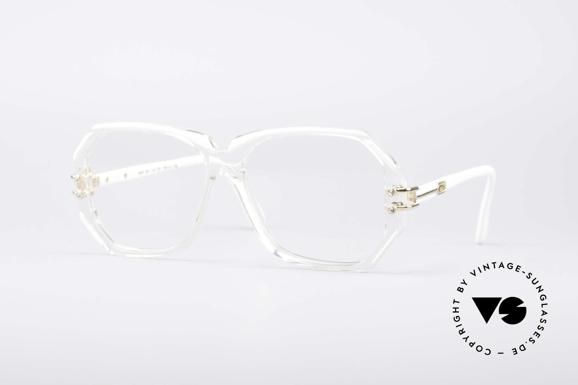 Cazal 169 Small Designer Frame, extravagant vintage Cazal designer eyeglass-frame, Made for Women