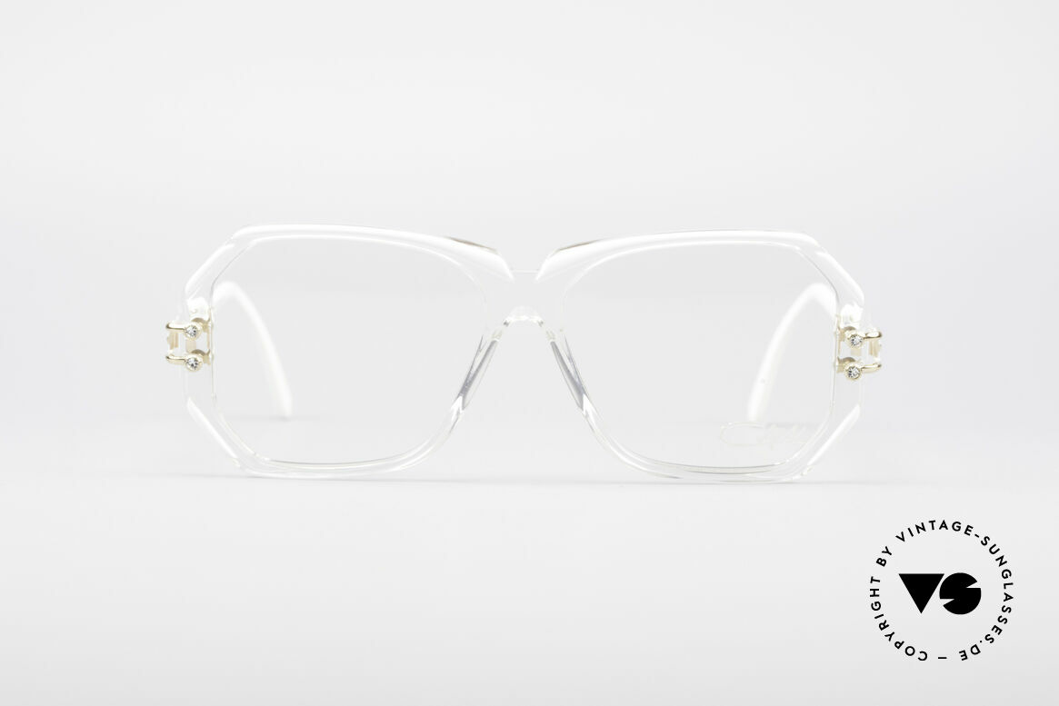 Cazal 169 Small Designer Frame, hand made around 1989/1990 (FRAME GERMANY), Made for Women