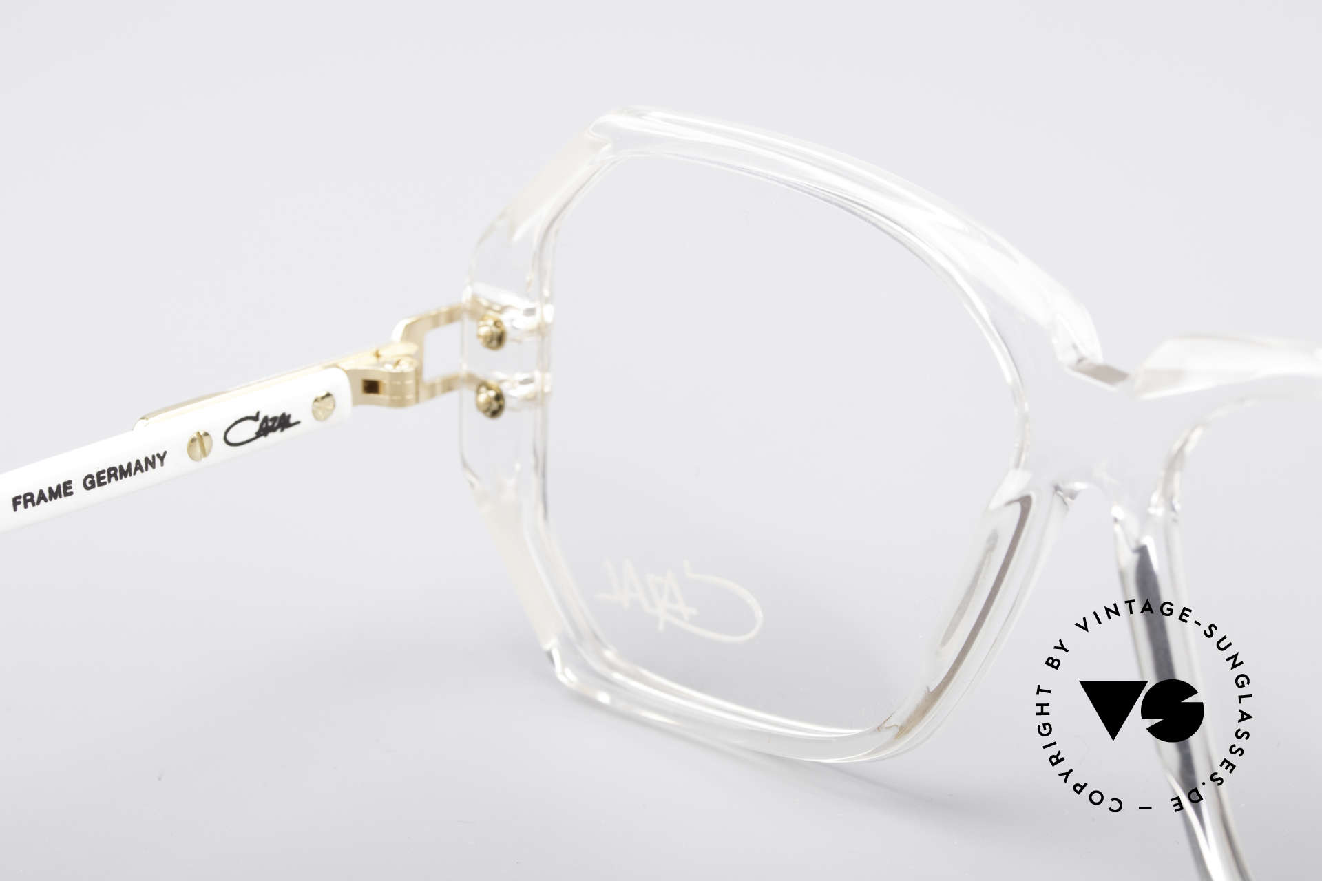 Cazal 169 Small Designer Frame, NO RETRO specs, but a genuine 28 years old original, Made for Women