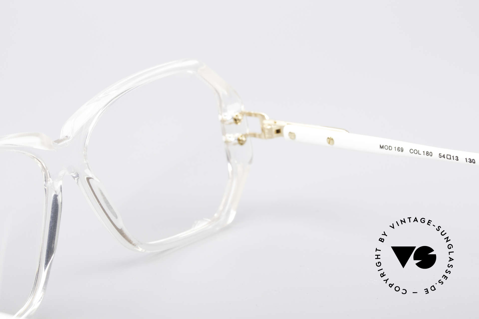 Cazal 169 Small Designer Frame, demo lenses should be replaced with prescriptions!, Made for Women