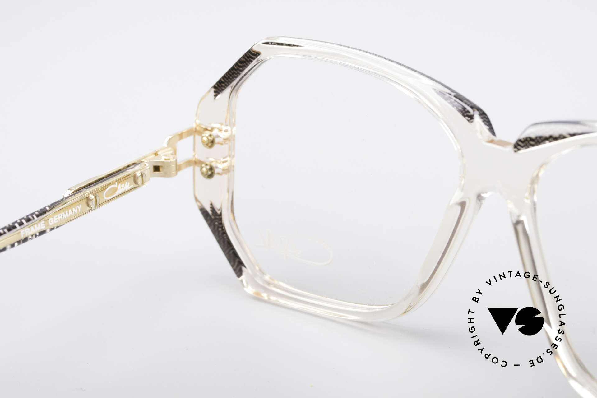 Cazal 169 Vintage Designer Frame, NO RETRO specs, but a genuine 28 years old original, Made for Women