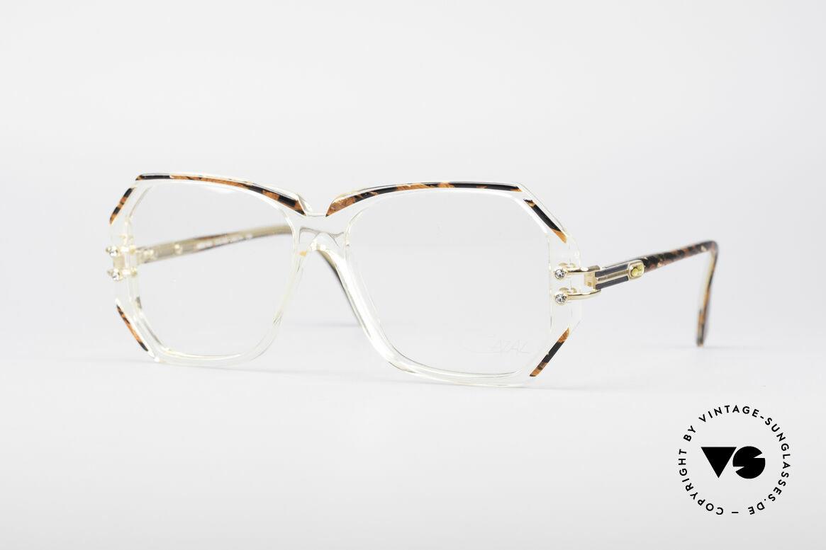 Cazal 169 Vintage Designer Frame, extravagant vintage Cazal designer eyeglass-frame, Made for Women
