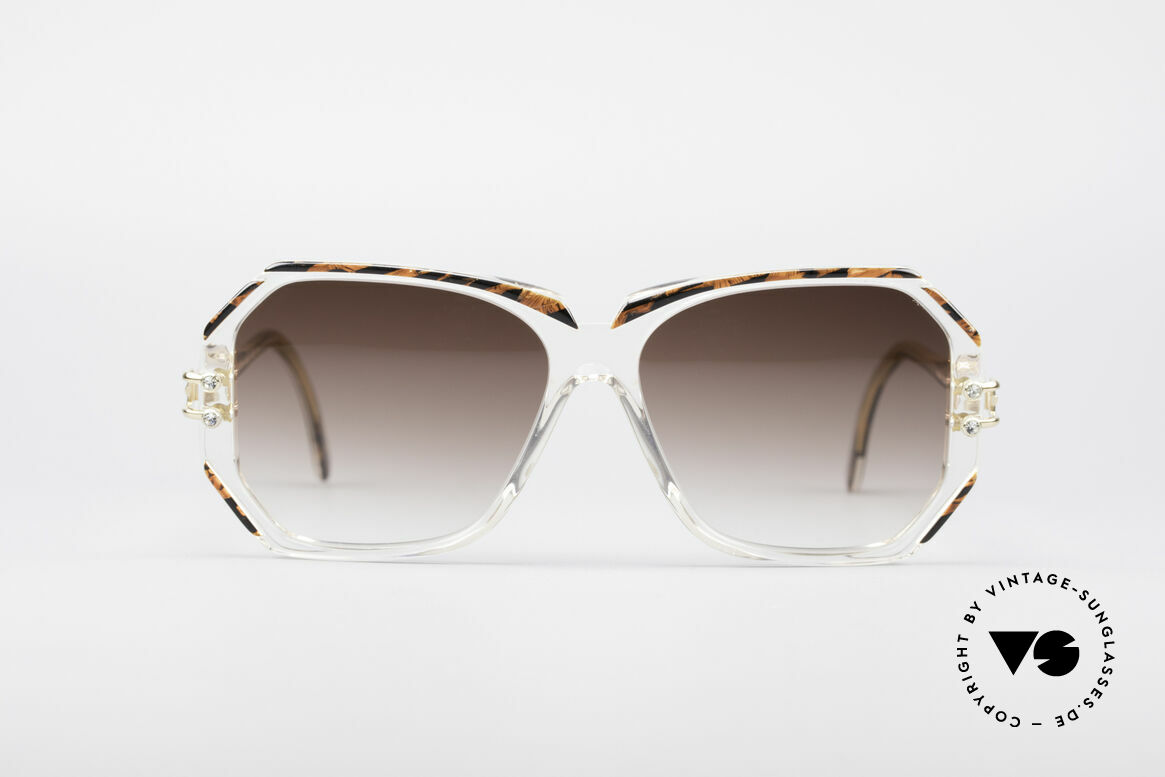 Cazal 169 Vintage Designer Shades, hand made around 1989/1990 (FRAME GERMANY), Made for Women