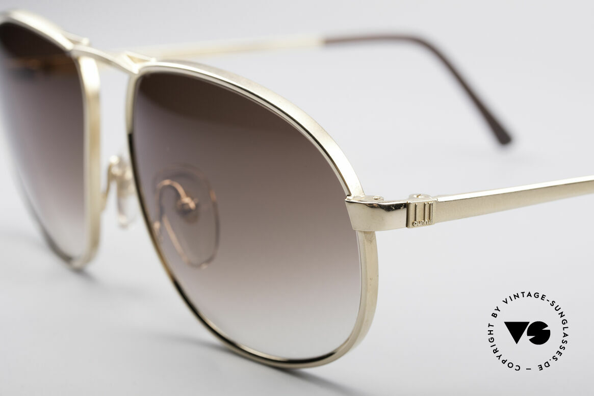Dunhill 6051 80's Titanium Luxury Shades, incredible solid and comfortable - (You must feel this!), Made for Men