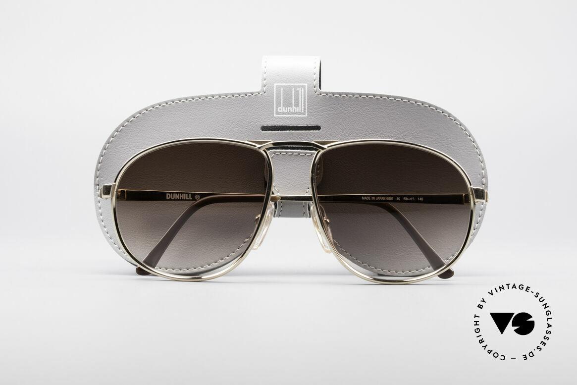 Dunhill 6051 80's Titanium Luxury Shades