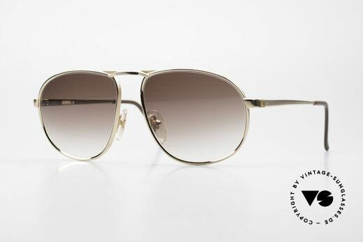 Dunhill 6051 80's Titanium Luxury Shades Details