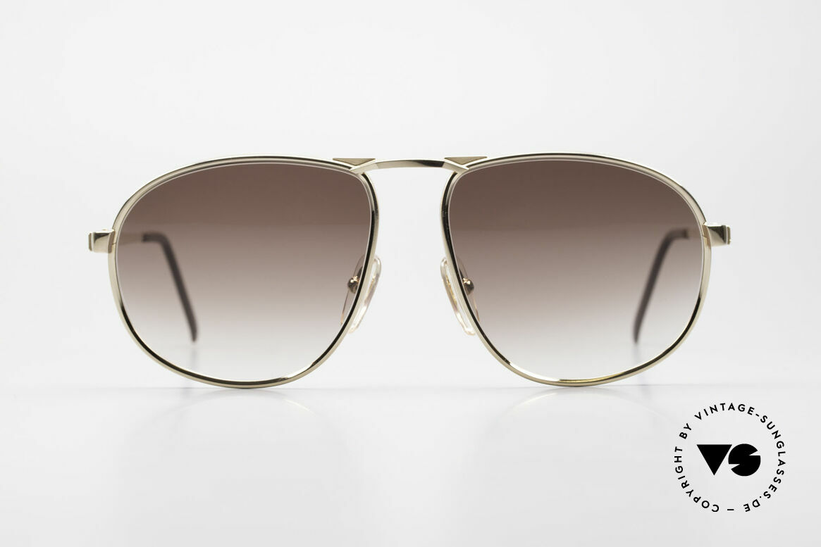 Dunhill 6051 80's Titanium Luxury Shades, premium vintage sunglasses by A. DUNHILL from 1989, Made for Men