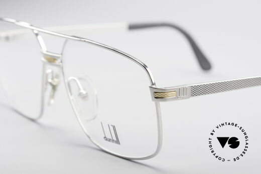 Dunhill 6134 Platinum Plated 90's Frame