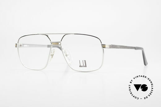 Dunhill 6134 Platinum Plated 90's Frame Details
