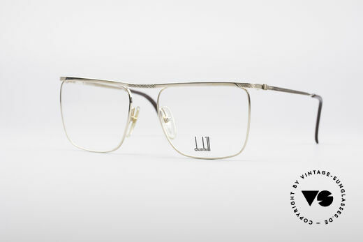 Dunhill 6056 Gold Plated 80's Frame Details