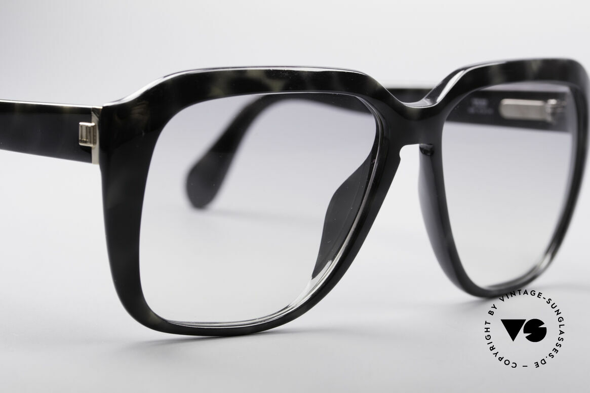 Dunhill 6045 80's Optyl Sunglasses For Men, granite colored frame with light-gray tinted lenses, Made for Men