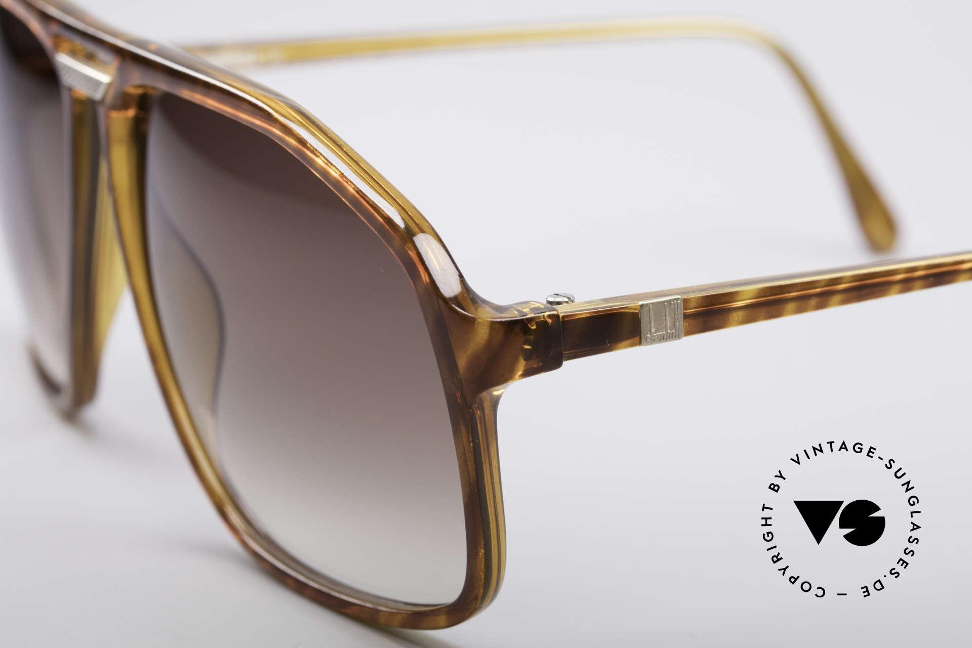 Dunhill 6097 Luxury Men's Sunglasses M, noble light-tortoise frame & dark-brown gradient lenses, Made for Men