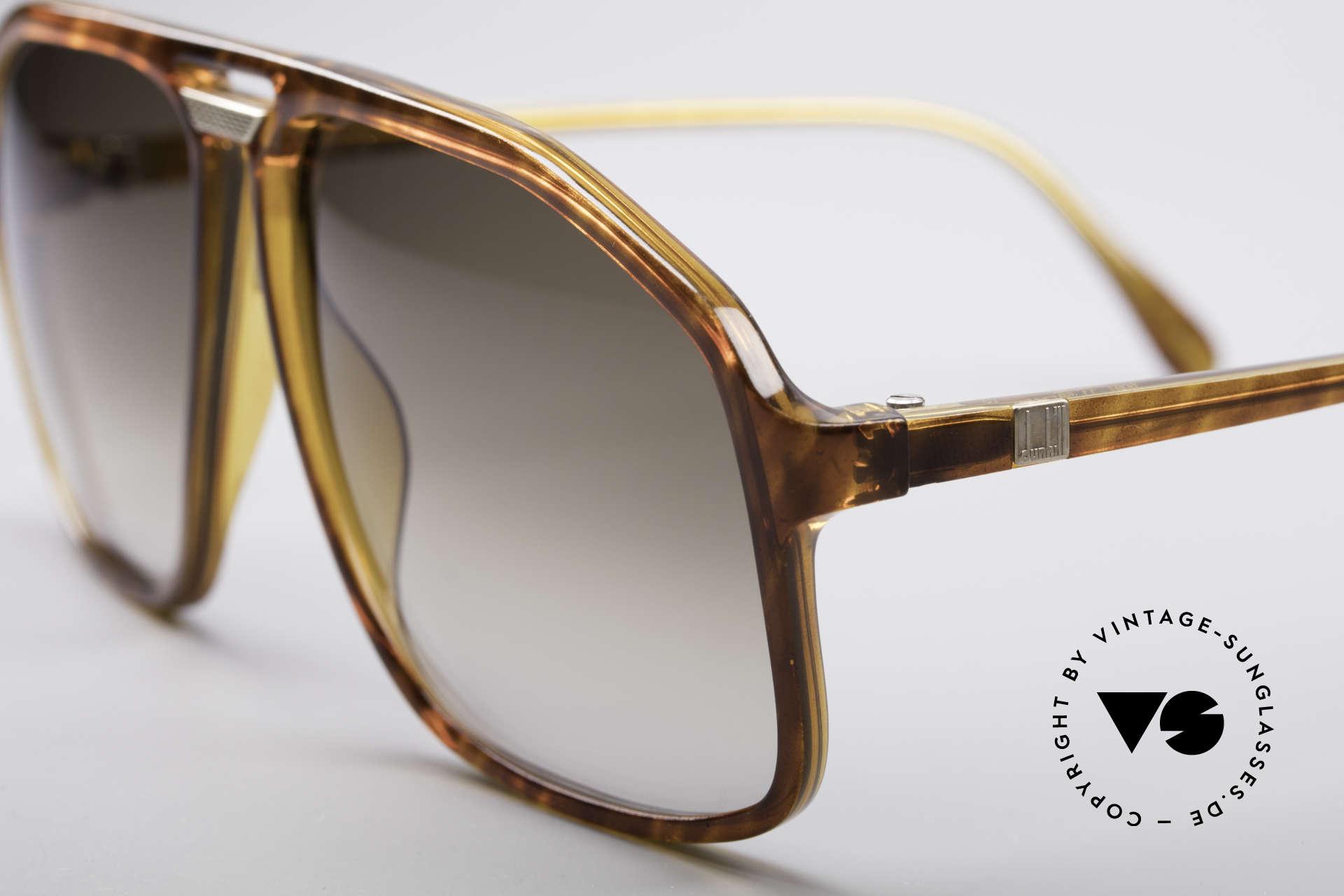 Dunhill 6097 90's Men's Sunglasses M, noble light-tortoise frame with brown-gradient lenses, Made for Men