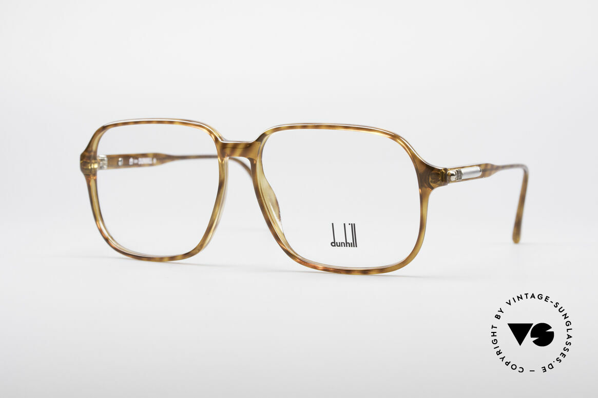 Dunhill 6219 Vintage Optyl Frame, striking designer glasses by Alfred Dunhill from 1990, Made for Men
