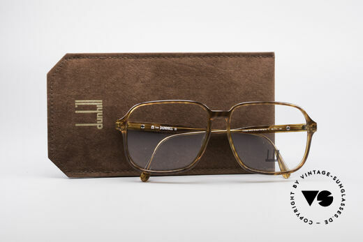 Dunhill 6219 Vintage Optyl Frame, NO RETRO, but a 28 years old original, truly VINTAGE, Made for Men