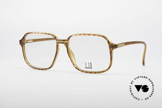Dunhill 6060 Classic 80's Eyeglasses Details