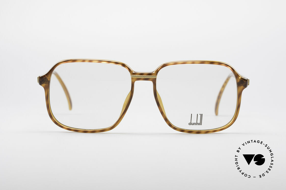 Dunhill 6060 Classic 80's Eyeglasses, everlasting OPTYL frame for a timeless TOP-quality, Made for Men