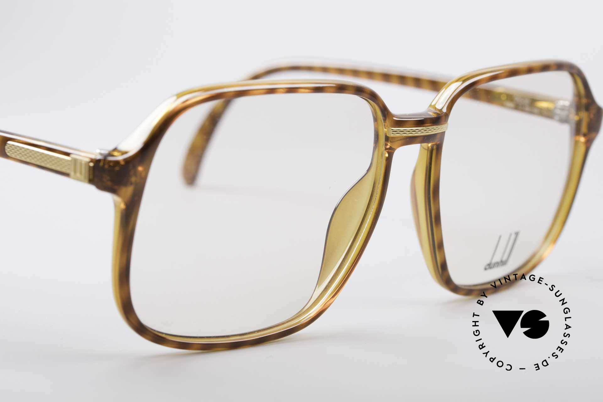 Dunhill 6060 Classic 80's Eyeglasses, new old stock (like all our vintage designer eyewear), Made for Men