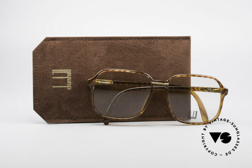 Dunhill 6060 Classic 80's Eyeglasses, NO RETRO, but a 30 years old original, truly VINTAGE, Made for Men
