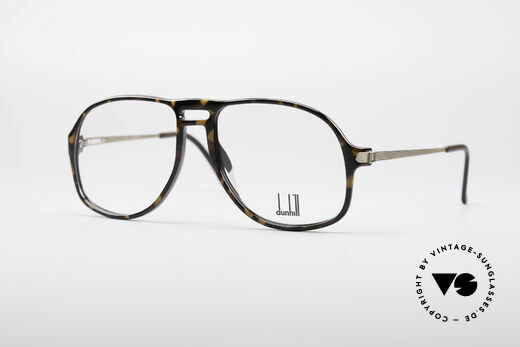 Dunhill 6091 Men's Vintage Aviator Glasses Details
