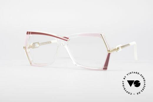 Cazal 183 1980's Hip Hop Eyeglasses Details