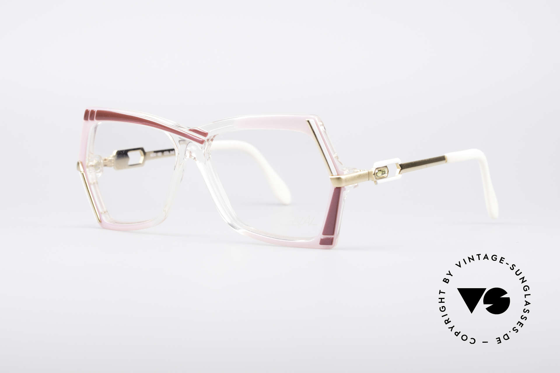 Cazal 183 1980's Hip Hop Eyeglasses, part of the legendary US HipHop scene in the 80s, Made for Women