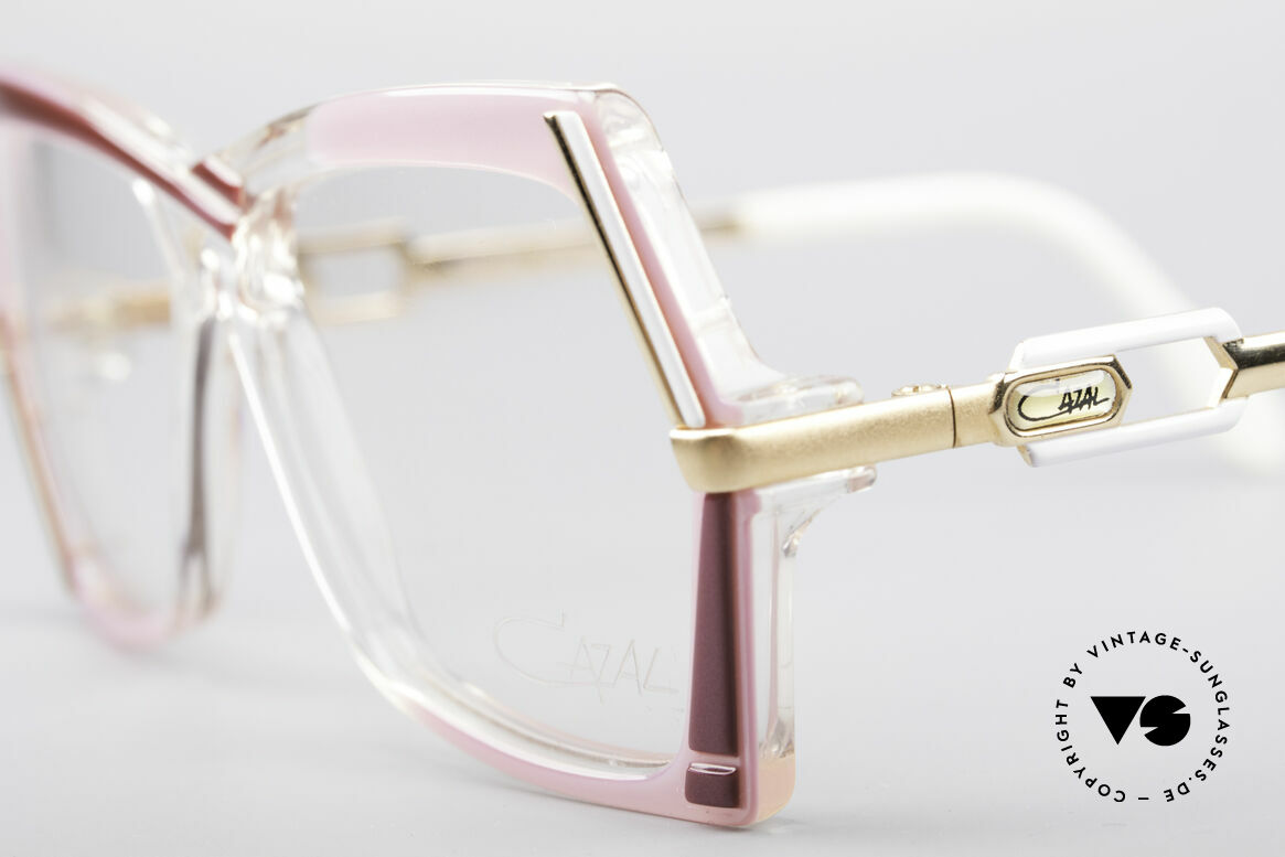 Cazal 183 1980's Hip Hop Eyeglasses, unworn (like all our rare vintage CAZAL eyewear), Made for Women