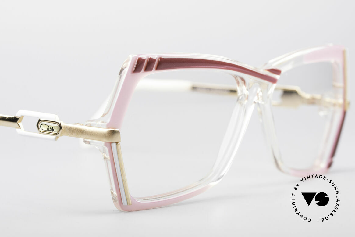 Cazal 183 1980's Hip Hop Eyeglasses, NO RETRO frame; but an old 'W.Germany' original, Made for Women