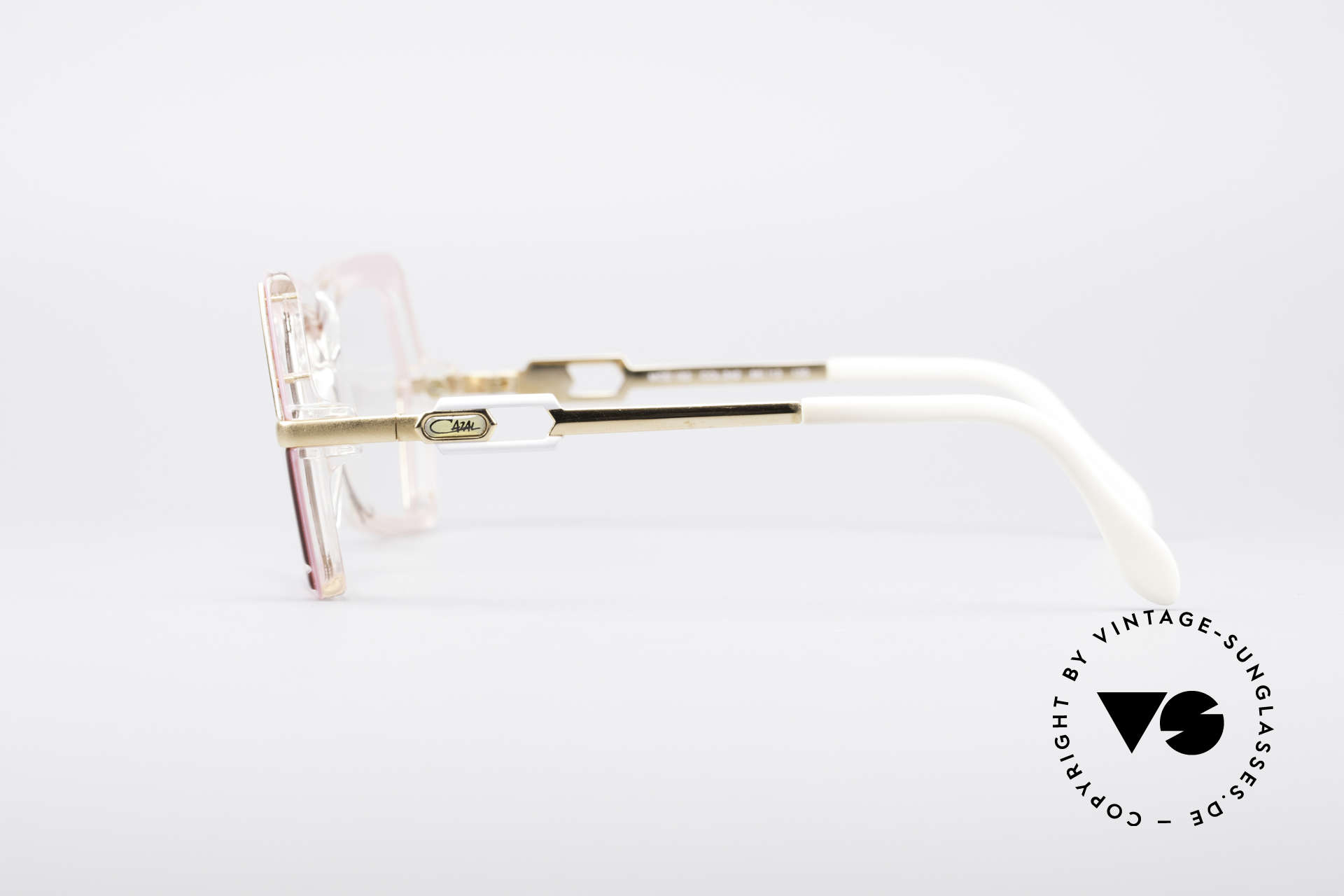 Cazal 183 1980's Hip Hop Eyeglasses, demos should be replaced with optical (sun)lenses, Made for Women