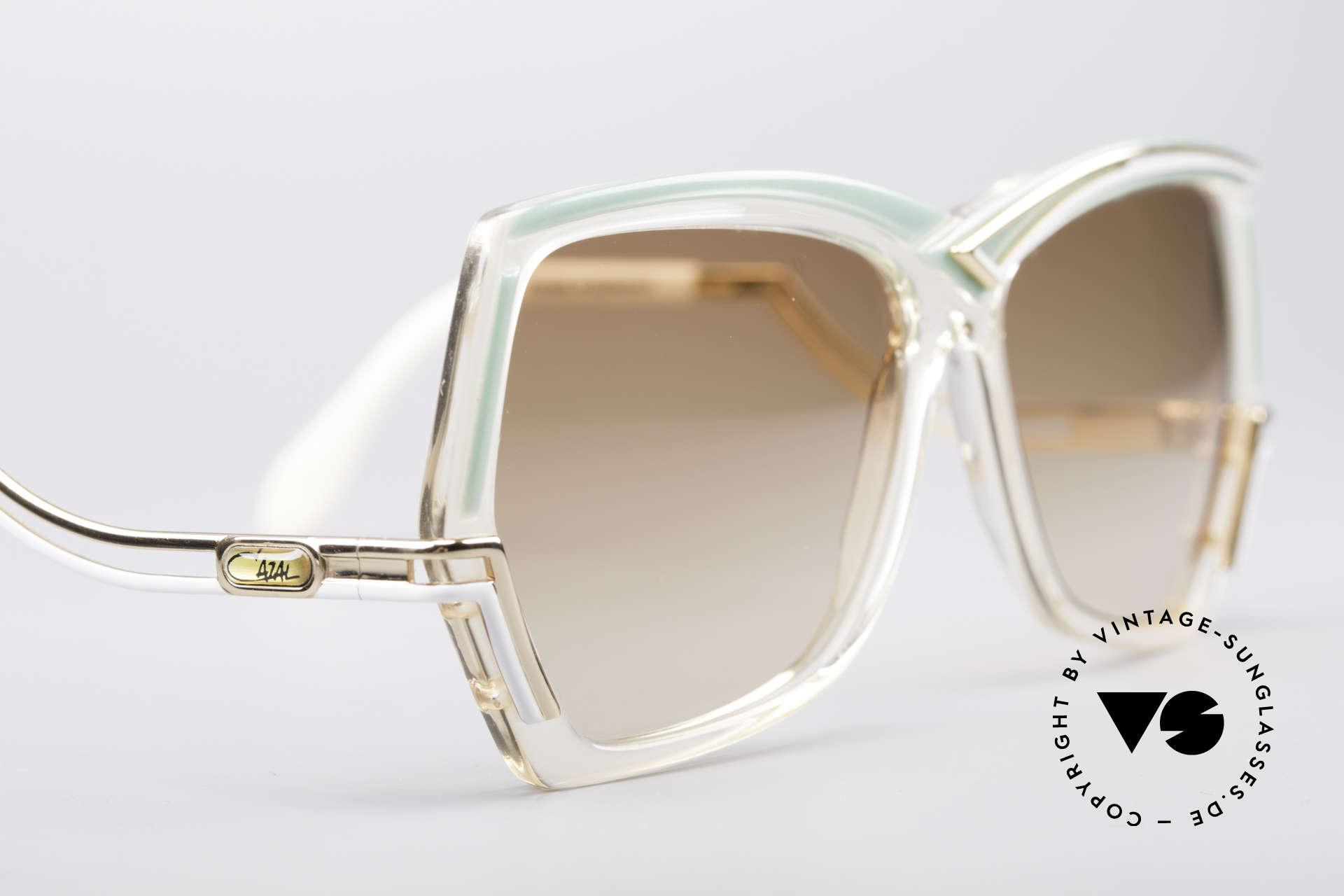 Cazal 178 Extraordinary Sunglasses, NO RETRO shades, but an original from app. 1986, Made for Women