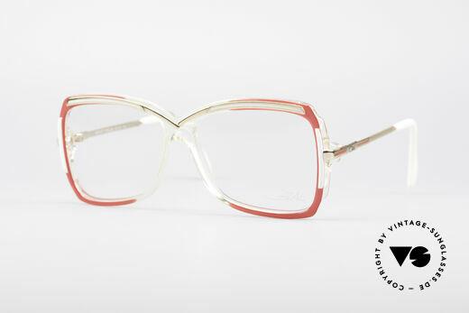 Cazal 177 80's Designer Glasses Details