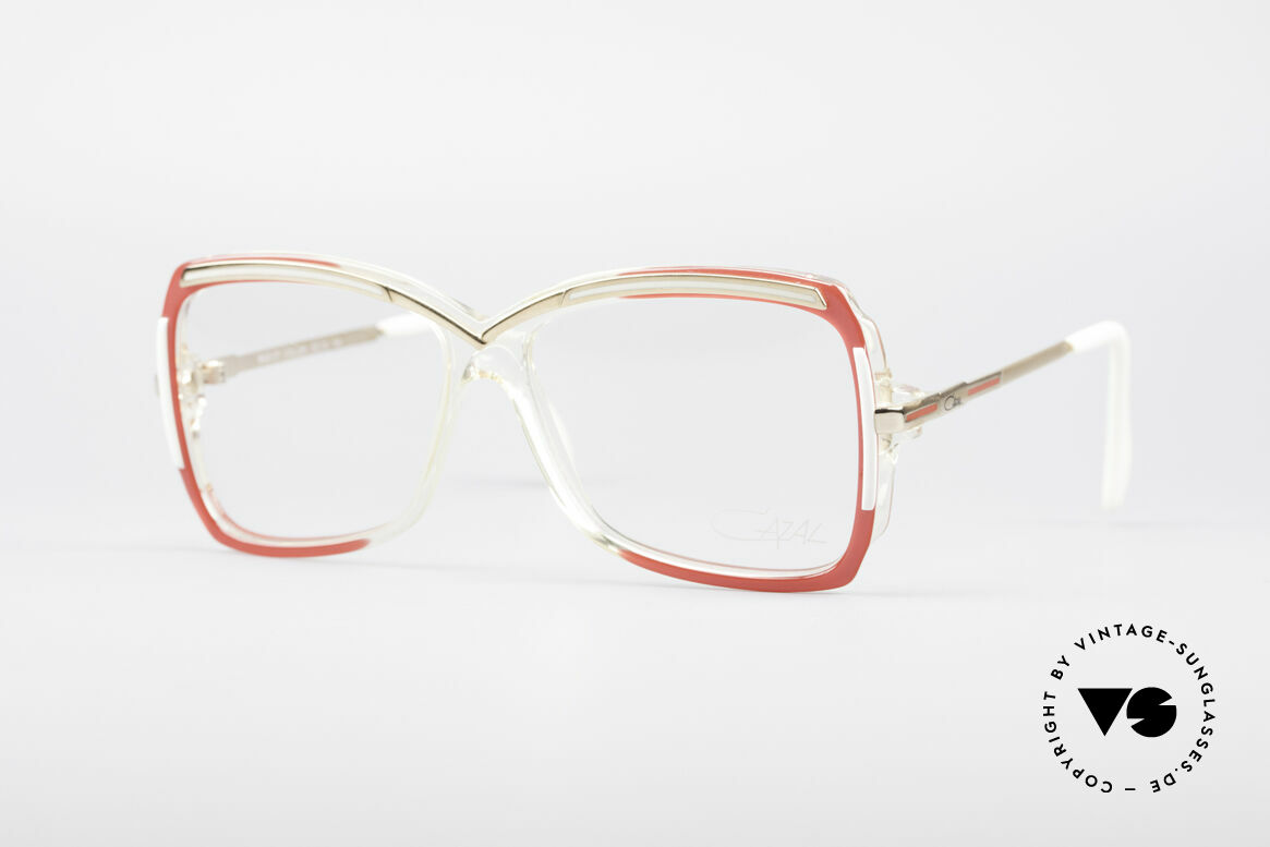Cazal 177 80's Designer Glasses, fabulous CAZAL eyeglasses for women from 1987, Made for Women