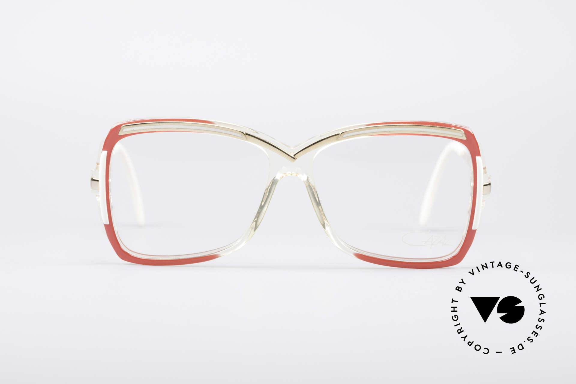 Cazal 177 80's Designer Glasses, a unique old designer piece and a true eye-catcher, Made for Women