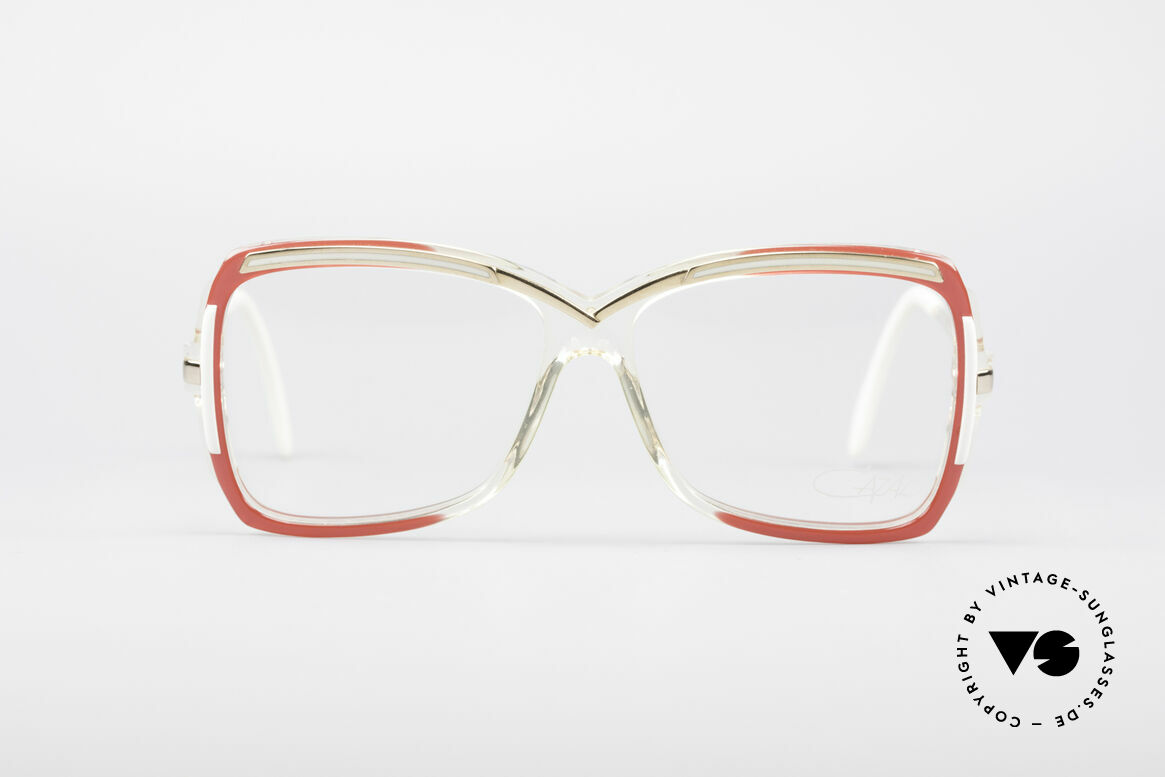 Cazal 177 80's Designer Glasses, a unique old designer piece and a true eye-catcher, Made for Women