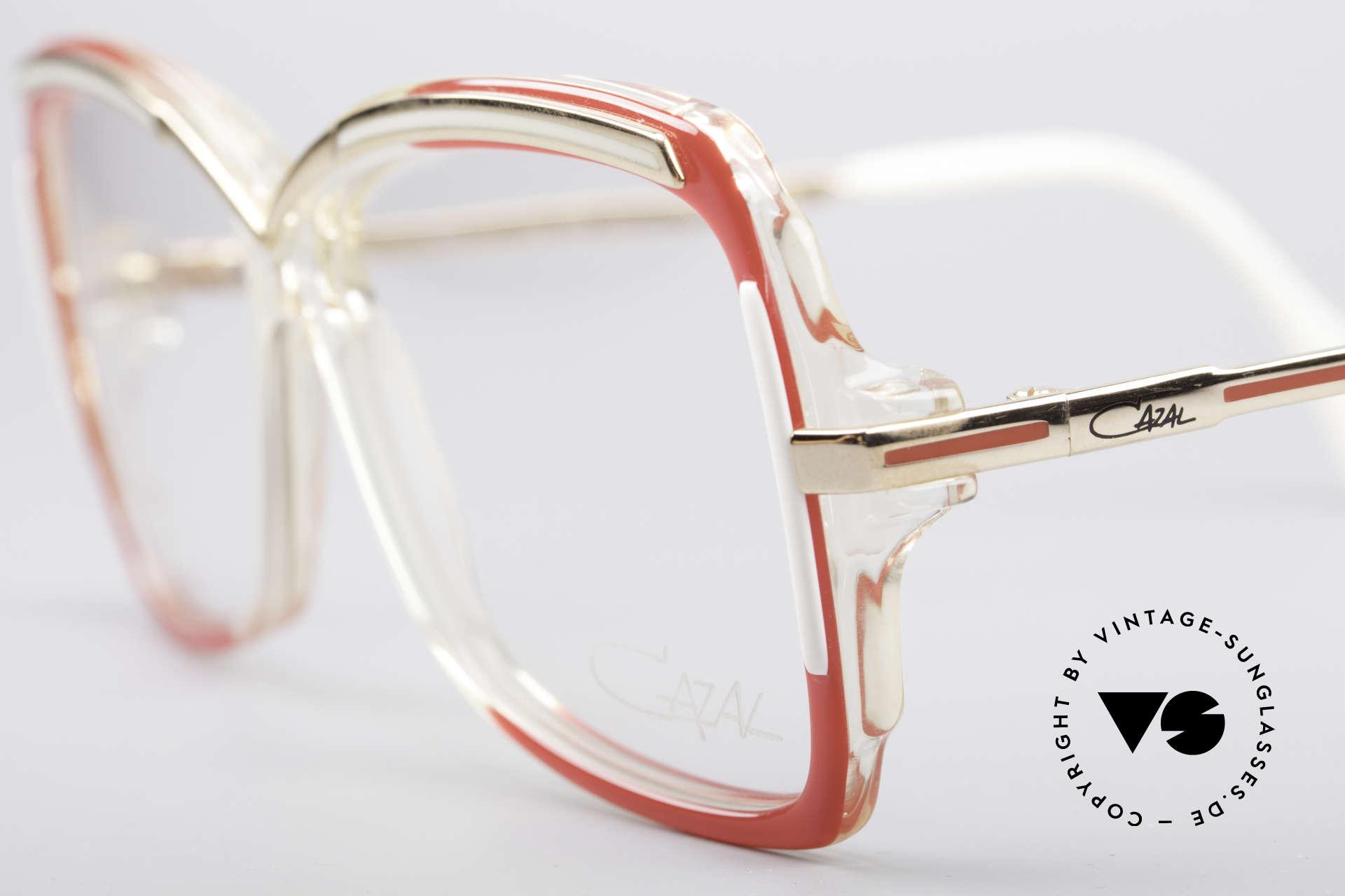 Cazal 177 80's Designer Glasses, new old stock (like all our rare vintage eyeglasses), Made for Women
