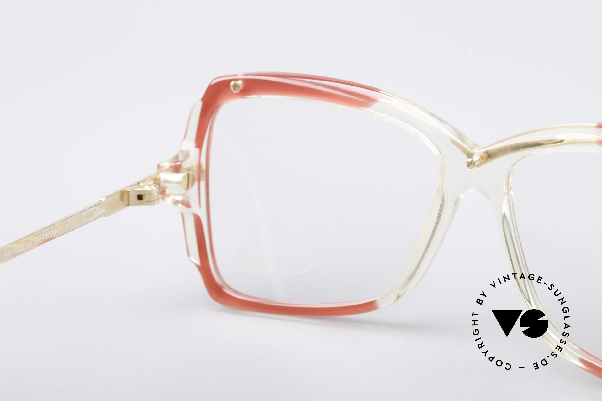 Cazal 177 80's Designer Glasses, the demo lenses can be replaced with prescriptions, Made for Women