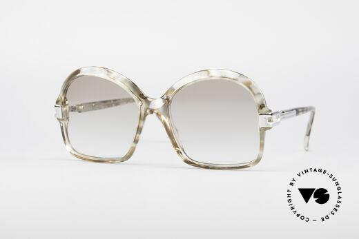 Cazal 108 70's Ladies Vintage Frame Details