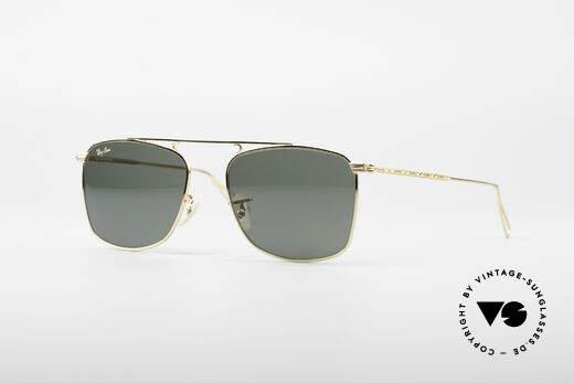 Ray Ban Vintage Rectangle Bausch&Lomb USA Shades Details