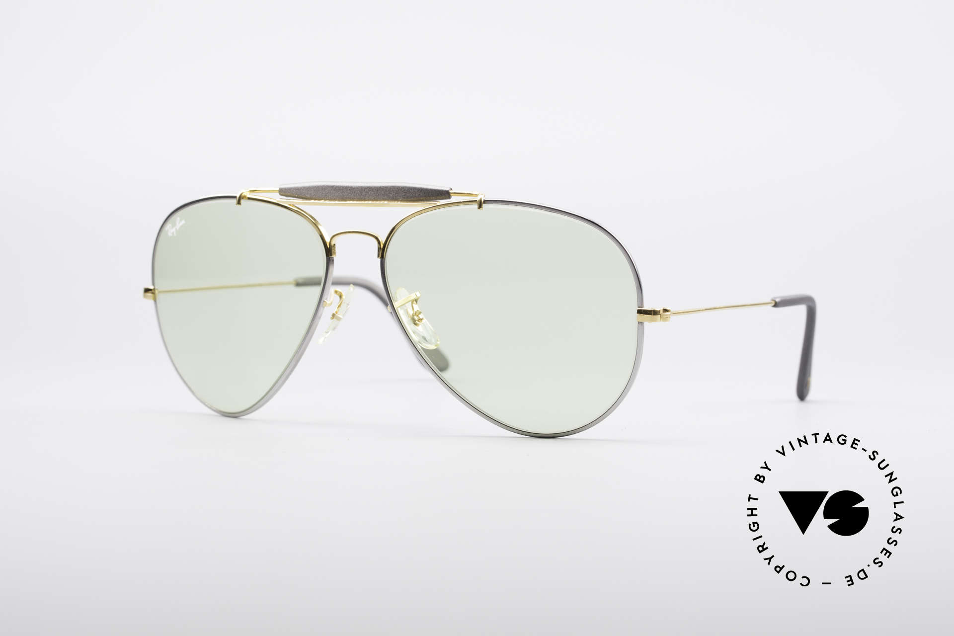 Ray Ban Outdoorsman II Precious Metals Changeable, costly vintage RAY-BAN B&L aviator sunglasses, Made for Men