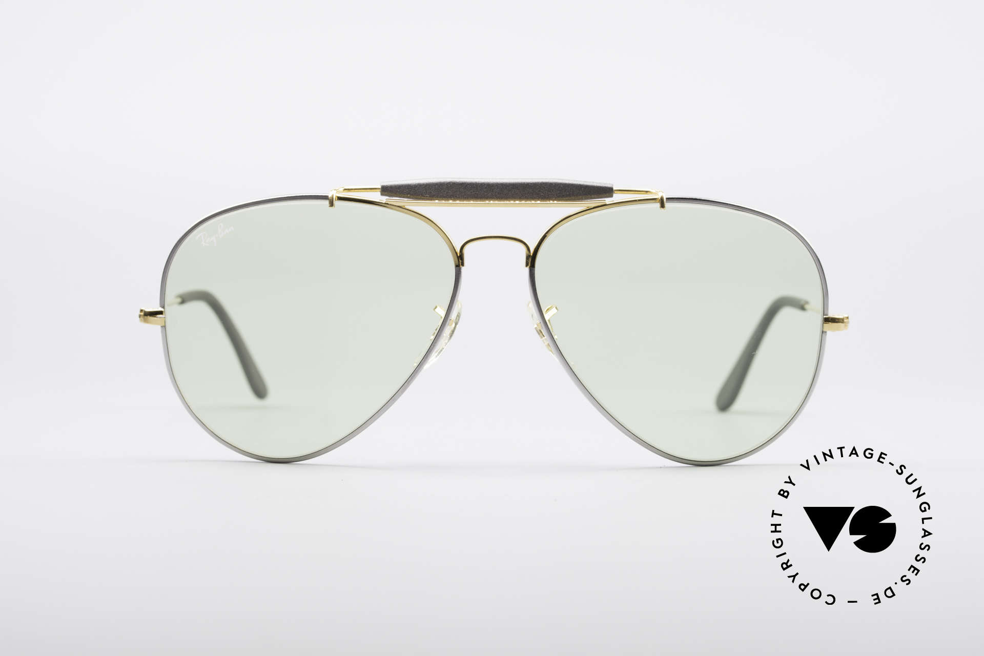 Ray Ban Outdoorsman II Precious Metals Changeable, rare 'Precious Metals' special edition; 62mm size, Made for Men