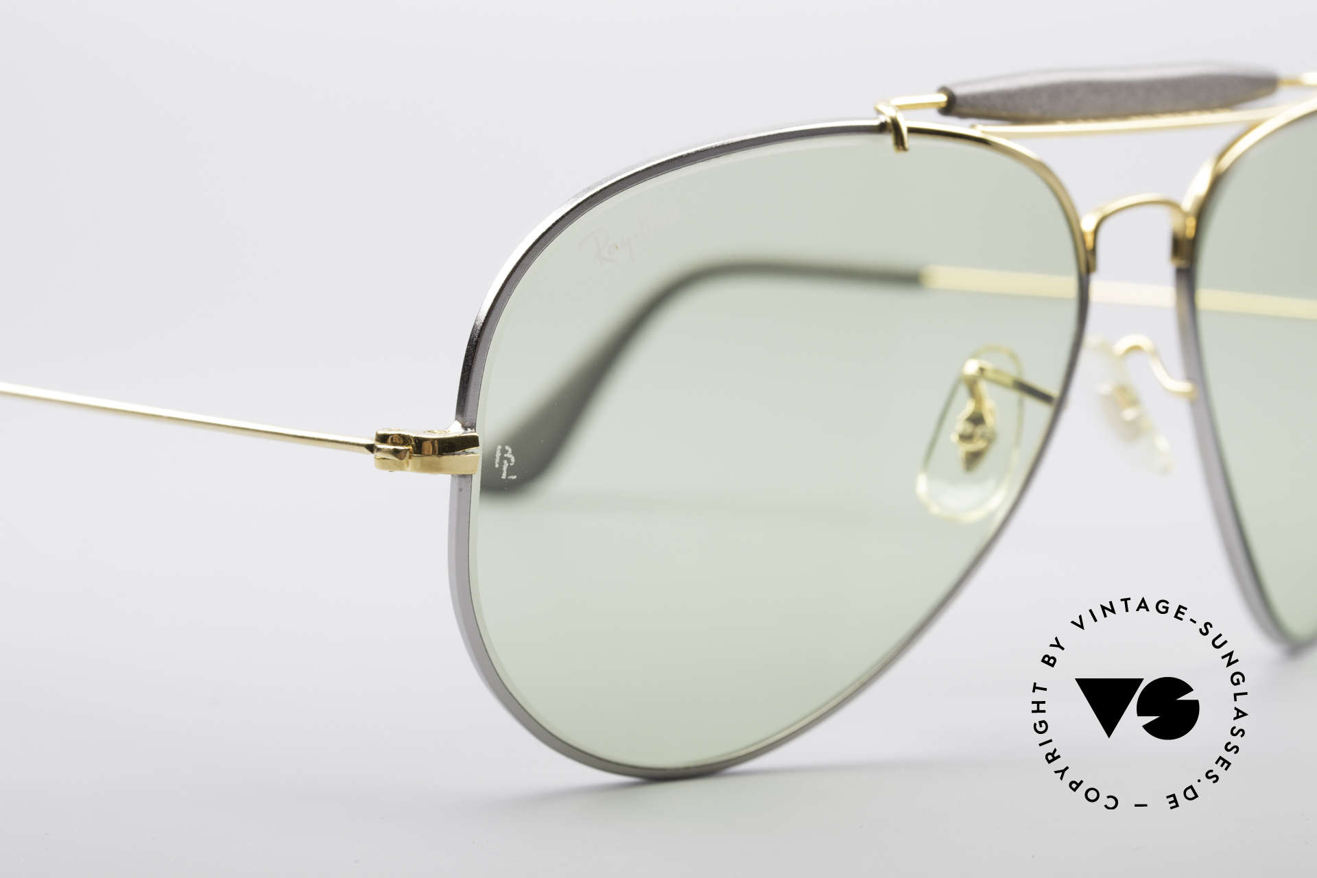 Ray Ban Outdoorsman II Precious Metals Changeable, changeable lenses darken automatically in the sun, Made for Men