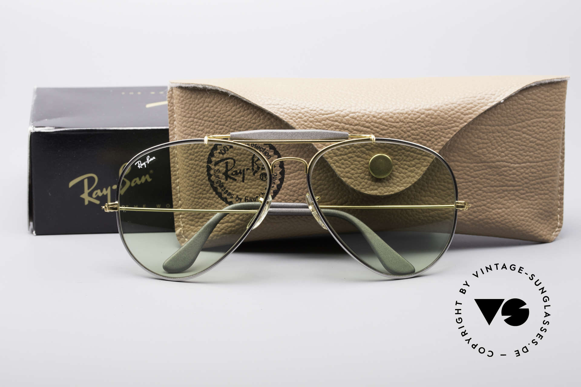 Ray Ban Outdoorsman II Precious Metals Changeable, Size: large, Made for Men