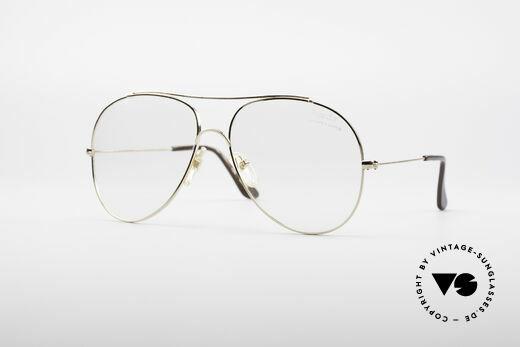 Bausch & Lomb 422 Gold Filled 80's Frame Details