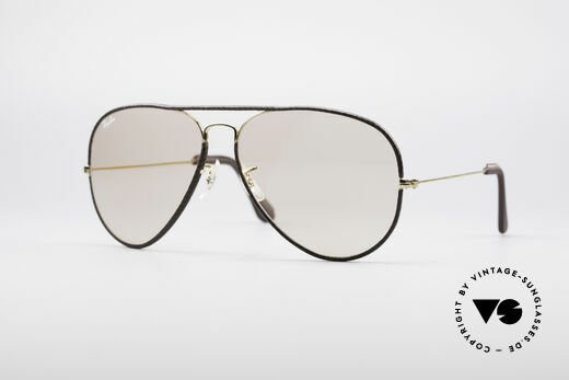 Ray Ban Large Metal II Leathers Changeable USA Details