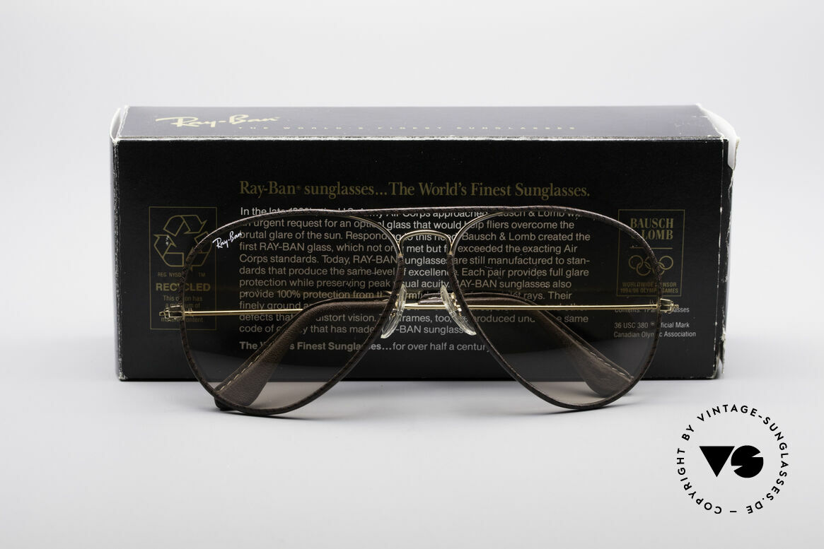 Ray Ban Large Metal II Leathers Changeable USA, Size: large, Made for Men