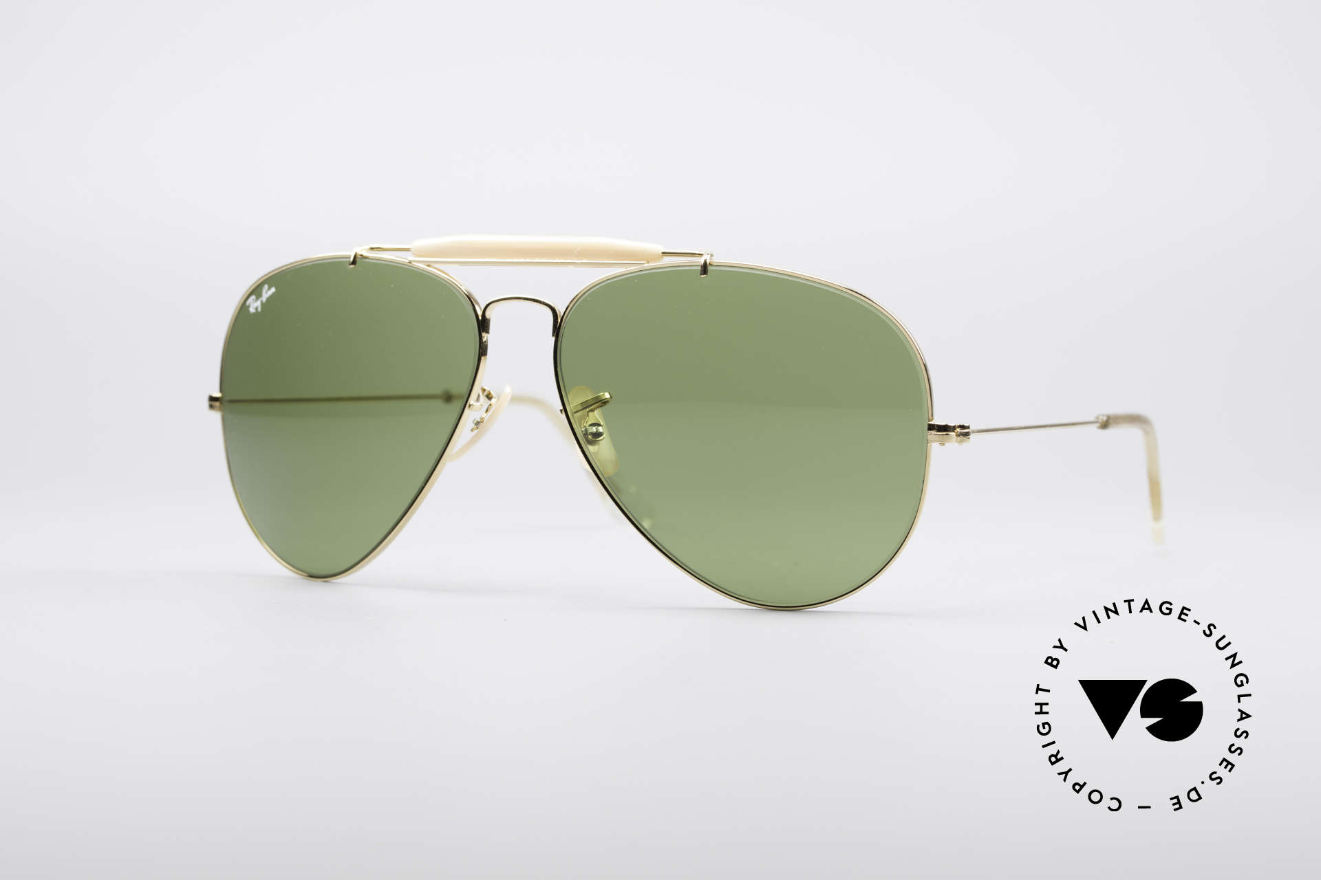 Ray Ban Outdoorsman II B&L USA Shades 80's Vintage, the classic Ray Ban USA sunglasses par excellence, Made for Men