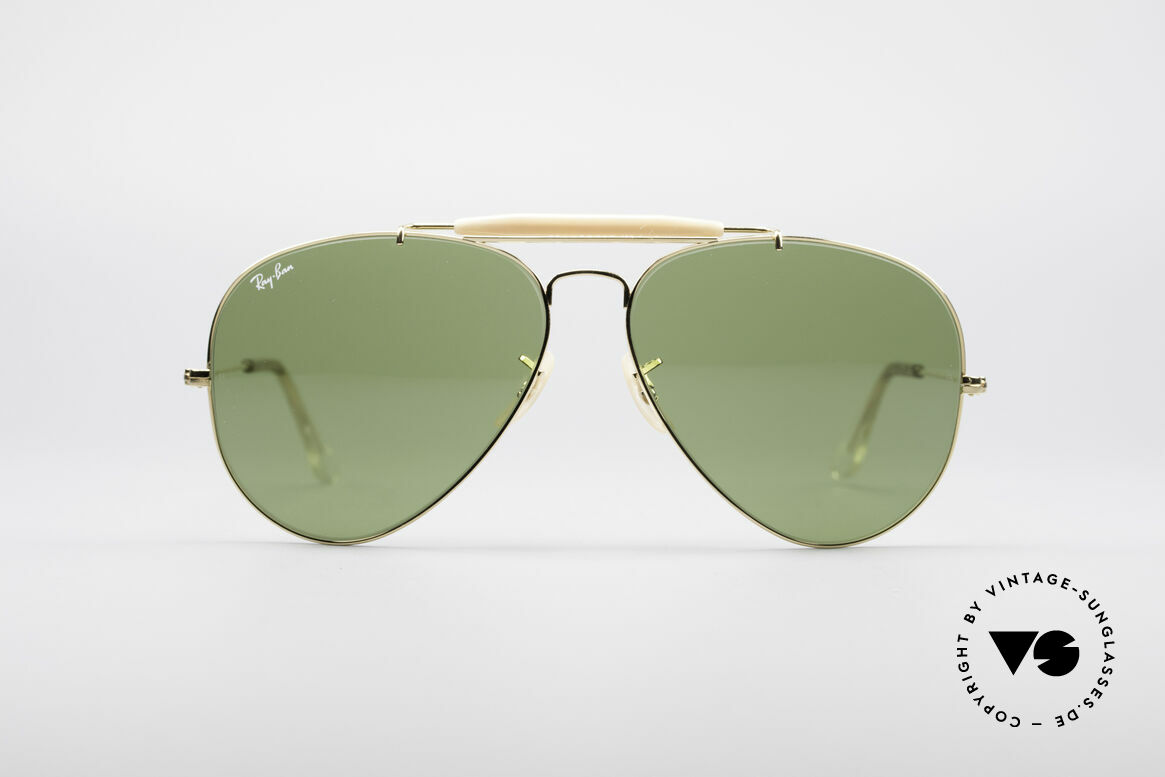 Ray Ban Outdoorsman II B&L USA Shades 80's Vintage, legendary aviator design in best quality (high-end), Made for Men